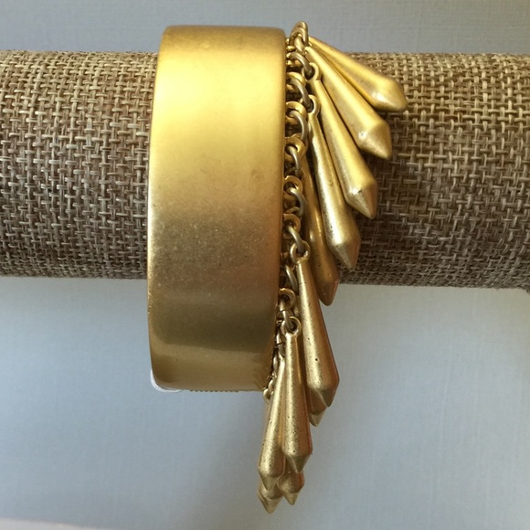 Lia Sophia Jewelry - Lia Sophia Gold Tassel Bangle